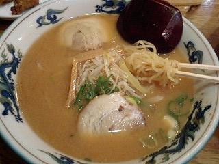 北海ラーメン 味噌ラーメン@塚口さんさんタウン