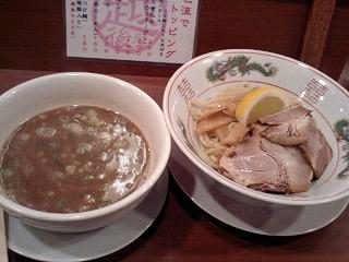 越後屋 特製つけ麺@JR天満駅前
