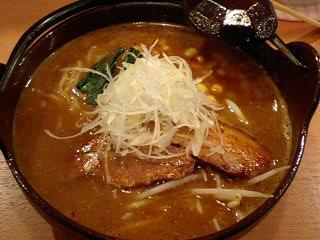 たぬき亭 味噌カレー@うえほんまちハイハイタウン
