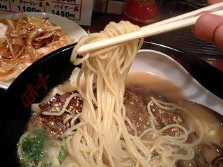 味千拉麺 パイクー麺 麺