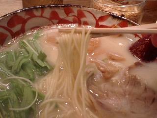聖天政五郎 煮干しラーメン 麺