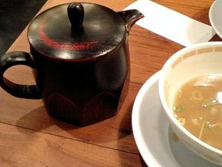 胡同製麺 つけ麺・麺中盛(300g) 割りスープ