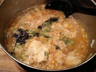 フジヤマ55 濃厚つけ麺(こってり) 雑炊
