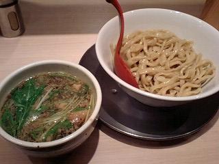 麺や七彩 朝つけ麺@東京ラーメンストリート