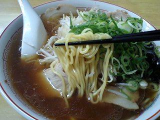 西脇大橋ラーメン ジャンボラーメン 麺