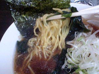 麺や 味のお祭り 醤油らーめん 麺