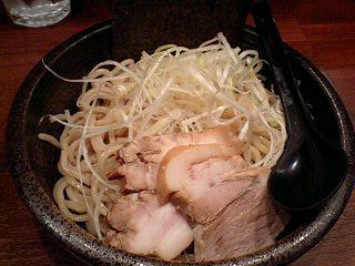 らーめん麺閣 つけ麺(ベジポタスープ)[並230g] 麺