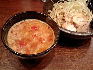 らーめん麺閣 つけ麺(ベジポタスープ)[並230g]@阪急高槻市駅