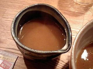 つけ麺屋やすべえ つけ麺(大盛440g) スープ割り
