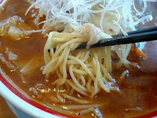 ちゃんぽん亭総本家 チゲちゃんぽん野菜1日盛り 麺