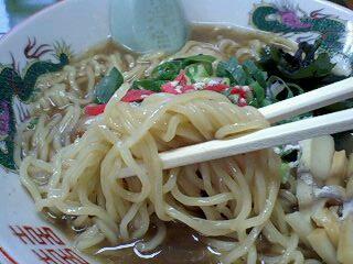 中華そば鳩おじさん 中華そば 麺