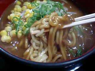 豆太郎 カレーラーメン 麺
