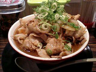 麺屋肉八 肉そば(ヘビー級)@さんちか麺ロード