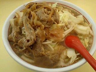神座 牛焼肉と野菜のスタミナラーメン(中盛)@香芝店