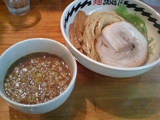 麺 FACTORYJAWS つけ麺(大)@地下鉄谷町六丁目
