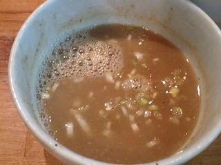 麺 FACTORYJAWS つけ麺(大) スープ割