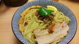 MENSHO TOKYO ラム豚骨つけ麺(ノーマル)煮干醤油 麺