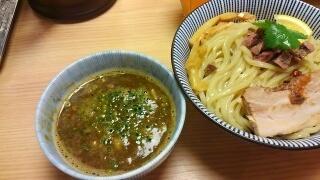 MENSHO TOKYO ラム豚骨つけ麺(ノーマル)煮干醤油@後楽園