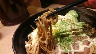 らーめん酒家 驛麺 お好み・焼きらーめん 麺