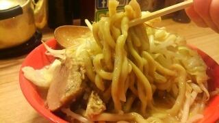 ダブルラリアット ラーメン 麺
