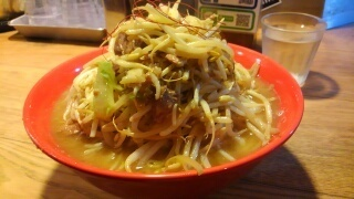 ダブルラリアット ラーメン(野菜増し)@出町柳