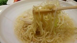ワンカルビ Plus+ 鶏ねぎ汁そば 麺
