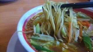 ちゃんぽん亭総本家 芳醇チキンカレー(野菜並盛) 麺