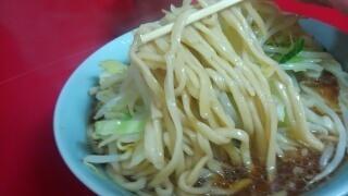 ラーメン二郎 ラーメン小[にんにくなし] 麺