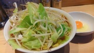 激流 野菜入大(生卵にんにく無し)@難波