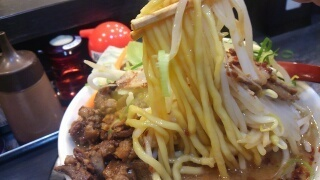 みなと軒 フジヤマスペシャル 麺