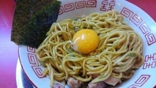 ラーメンたんろん 油そば(大盛) 麺