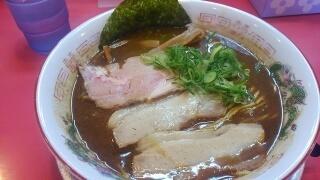 ラーメンたんろん 濃厚鶏豚骨魚介ラーメン@西宮