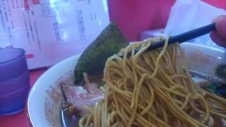 ラーメンたんろん 濃厚鶏豚骨魚介ラーメン 麺