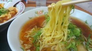 餃子の王将 ラーメン 麺