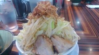 笑福 ラーメン[野菜増し増しにんにく無し]@大阪西中島店