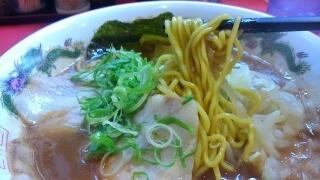 ラーメンたんろん 味噌ラーメン(大盛) 麺