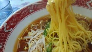 中華料理長城 ラーメン 麺