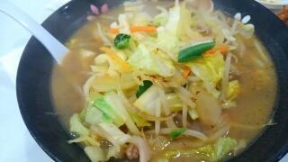 餃子の王将 春の野菜煮込みラーメン@西宮常磐店