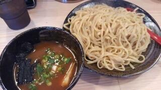 麺屋 縁一 超濃厚魚介つけ麺(大盛)@西宮