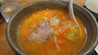 らくらく亭 鶏骨赤味噌ラーメン@エブリーイオン新金岡店