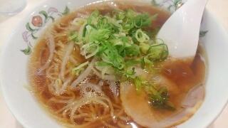 餃子の王将 醤油ラーメン@阪神西宮店