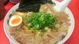 魁力屋 特製醤油厳選全部のせラーメン(大)@堺新金岡店