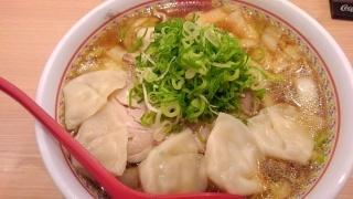 神座 ワンタン麺(中盛)@天王寺MIOプラザ店