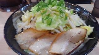 麺屋縁一 野菜豚骨塩ラーメン@西宮
