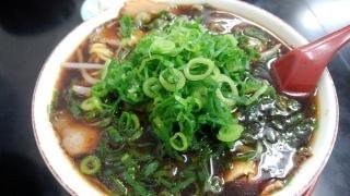 新福菜館 中華そば(並)@大津京店