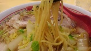 神座 おいしいラーメン(中盛) 麺