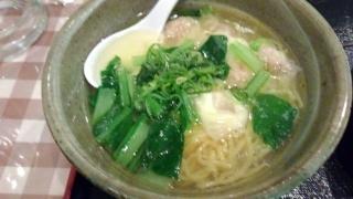 らくらく亭 ワンタン麺(大)@エブリーイオン新金岡店