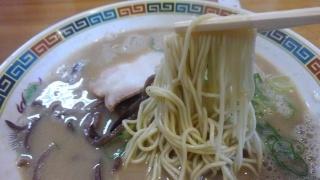 銭屋 博多ラーメン 麺