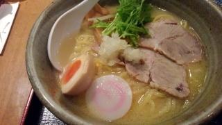 らくらく亭 鶏白湯ラーメン(大)@エブリーイオン新金岡店