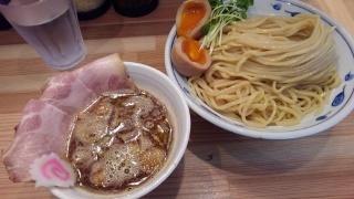 サバ6製麺所 サバ濃厚鶏つけ麺@大国町店